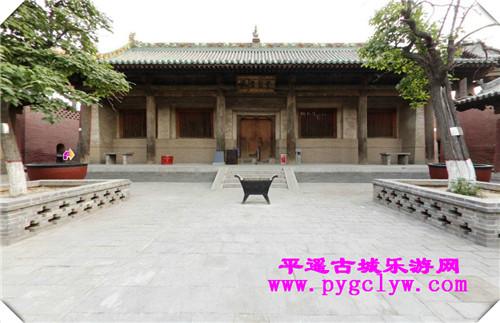 平遥古城双林寺一院