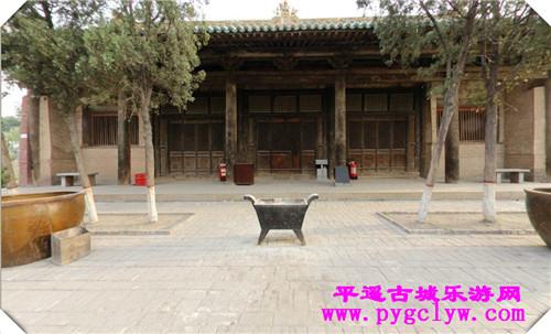 平遥古城双林寺三院