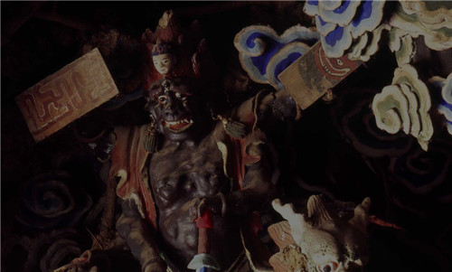 五台山寺庙塑像