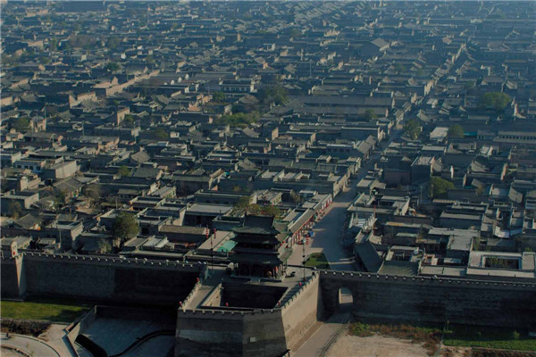 平遥古城全景